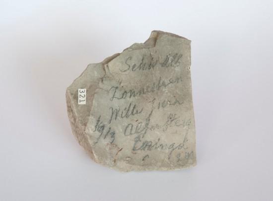Een ammoniet uit de Heimans-collectie